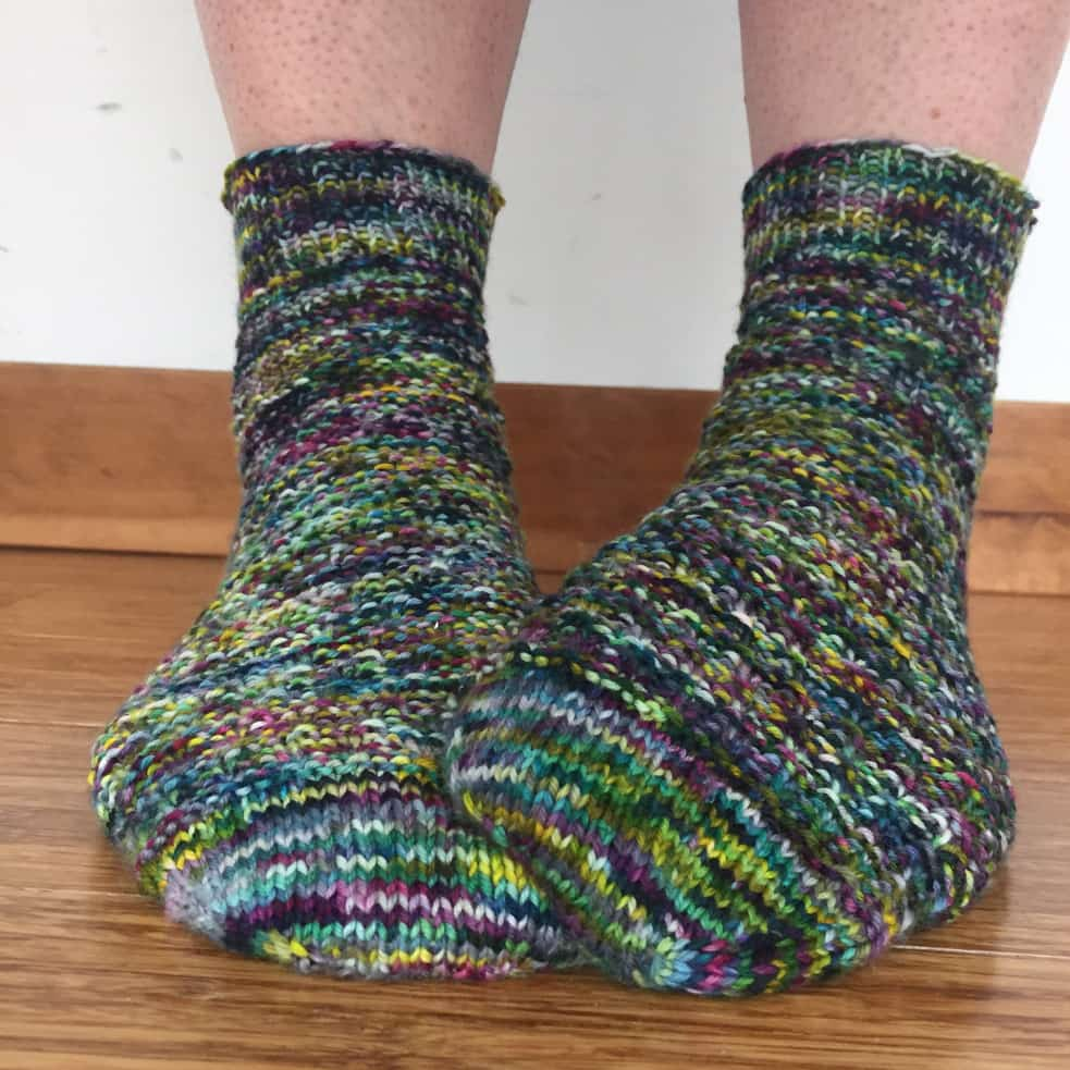 Otherwise Engaged socks in Knitted Wit Victory Sock